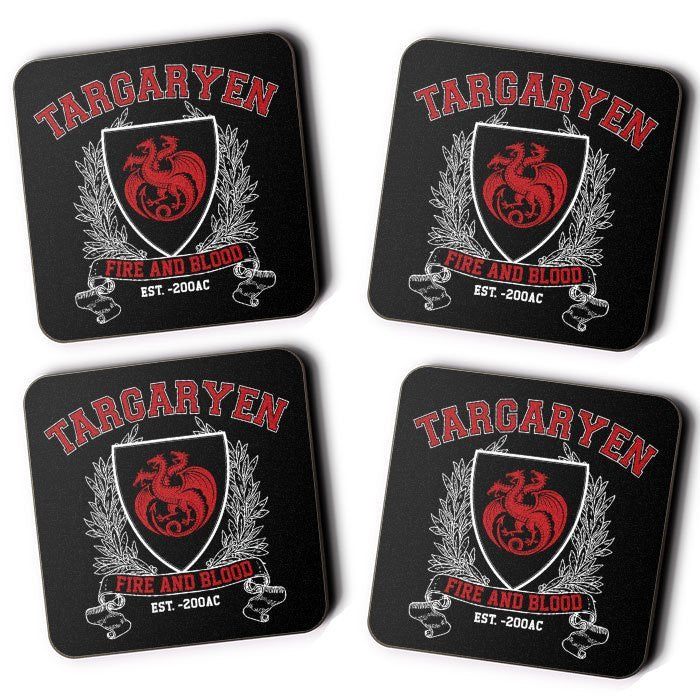 Targaryen University - Coasters