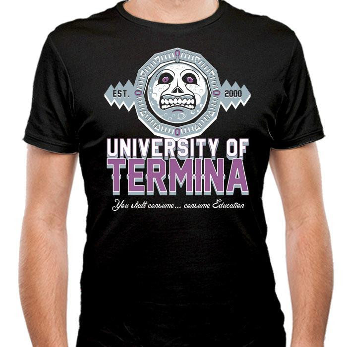 Termina University  - Men's Fitted T-Shirt