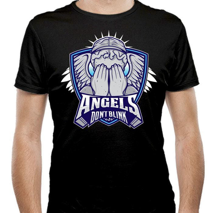The Angels - Men's Fitted T-Shirt