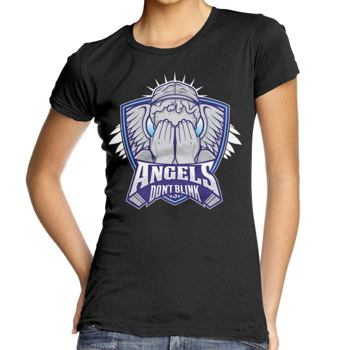 The Angels - Women's Fitted T-Shirt
