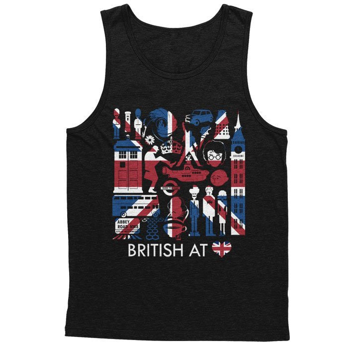 The British at Heart - Men's Tank Top