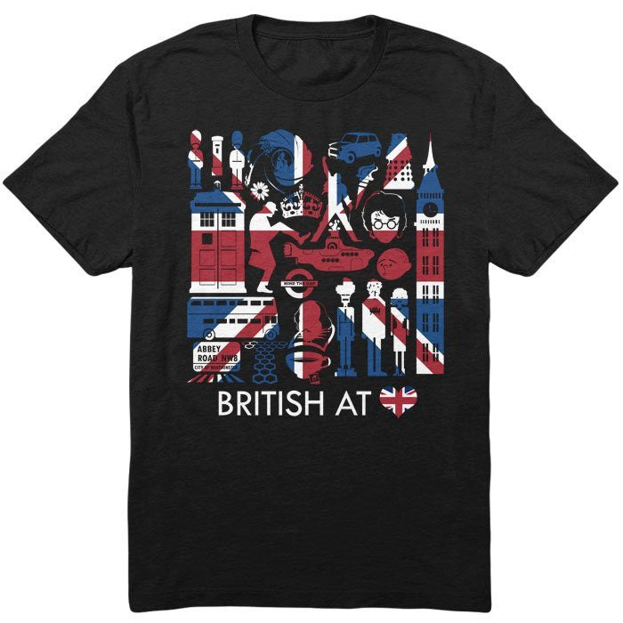 The British at Heart - Infant/Toddler T-Shirt