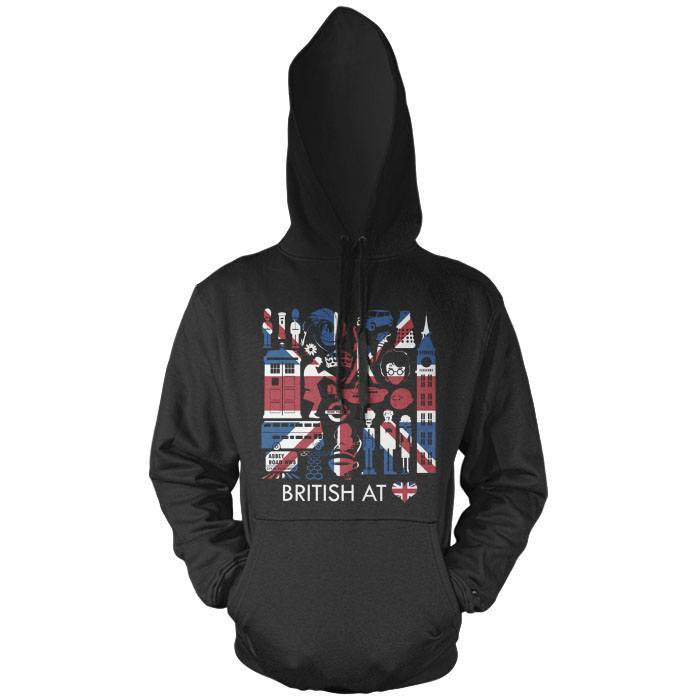 The British at Heart - Pullover Hoodie