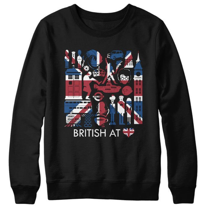 The British at Heart - Sweatshirt