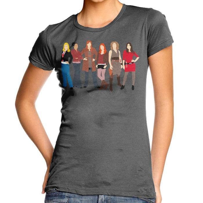 The Companions - Women's Fitted T-Shirt