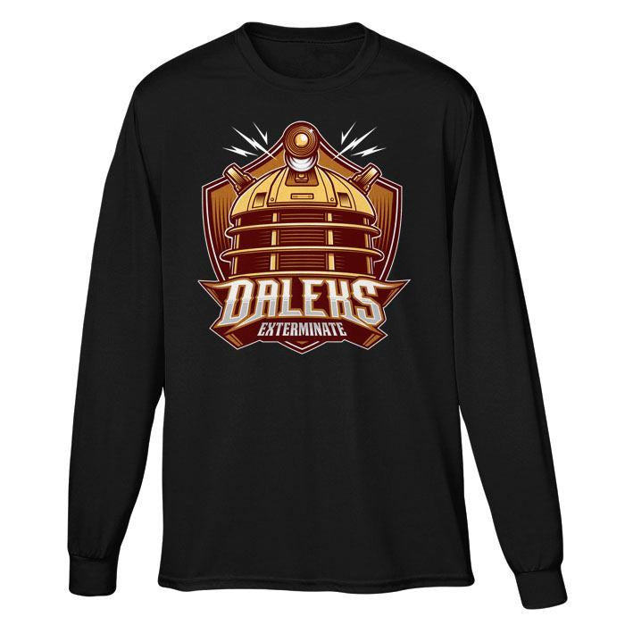 The Daleks - Long Sleeve T-Shirt (Unisex)