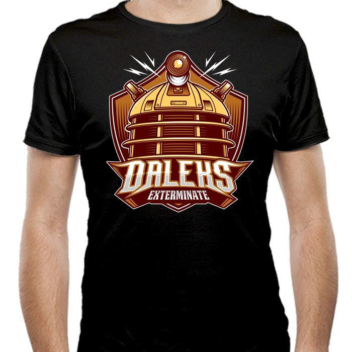 The Daleks - Men's Fitted T-Shirt