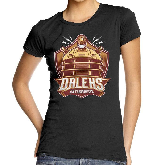 The Daleks - Women's Fitted T-Shirt