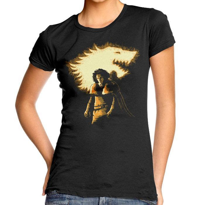 The Dark Knight is Coming - Women's Fitted T-Shirt
