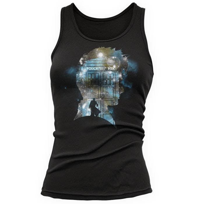 The Doctor's Silhouette - Women's Tank Top