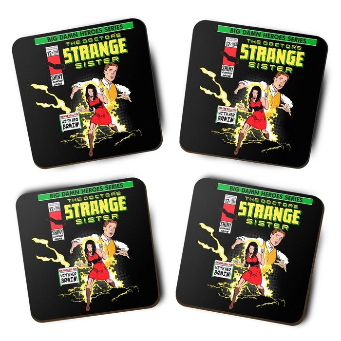 The Doctor's Strange Sister - Coasters