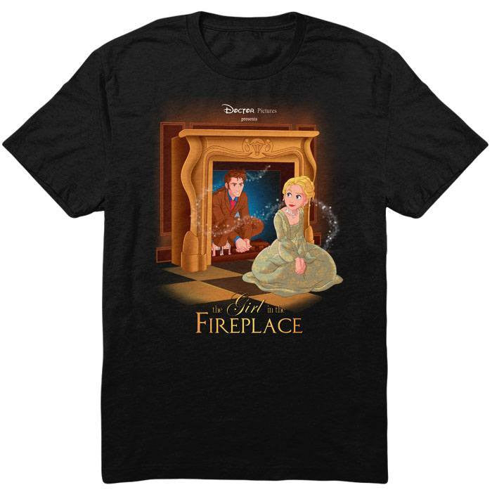 The Girl in the Fireplace - Men's T-Shirt