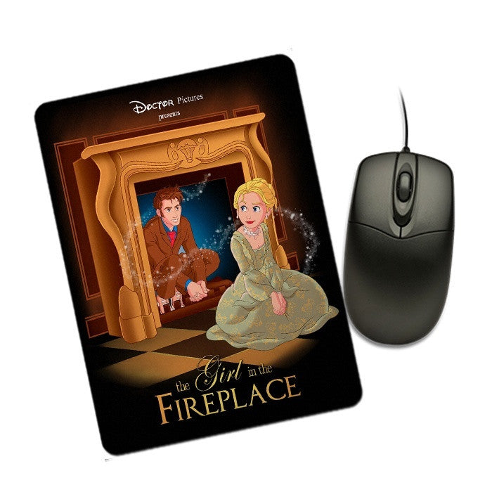 The Girl in the Fireplace - Mousepad