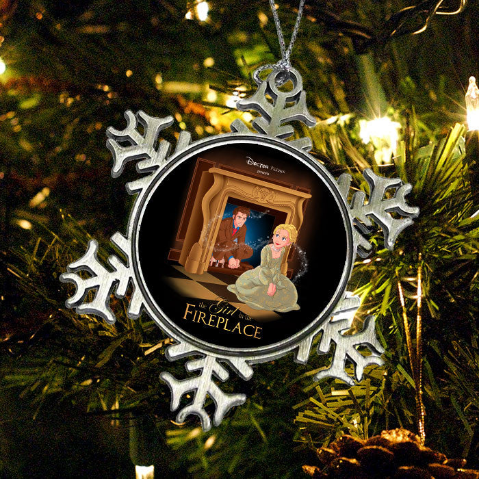 The Girl in the Fireplace - Ornament