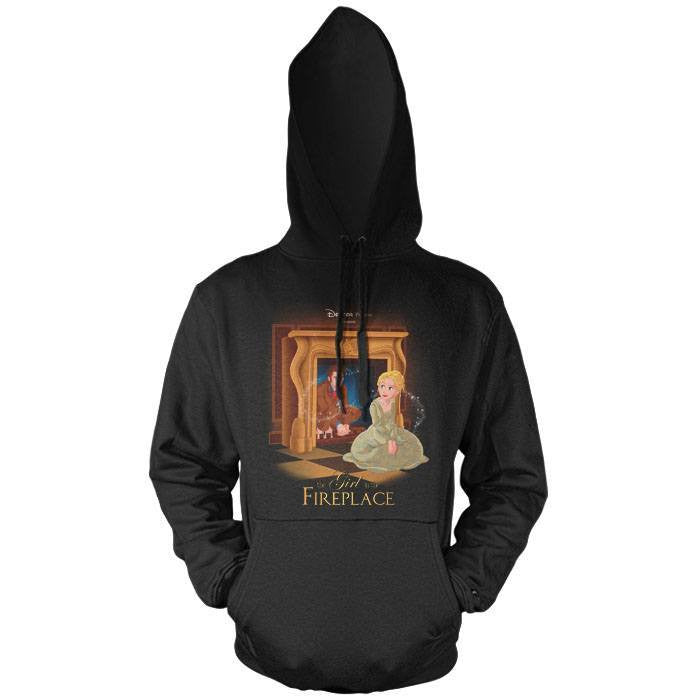 The Girl in the Fireplace - Pullover Hoodie