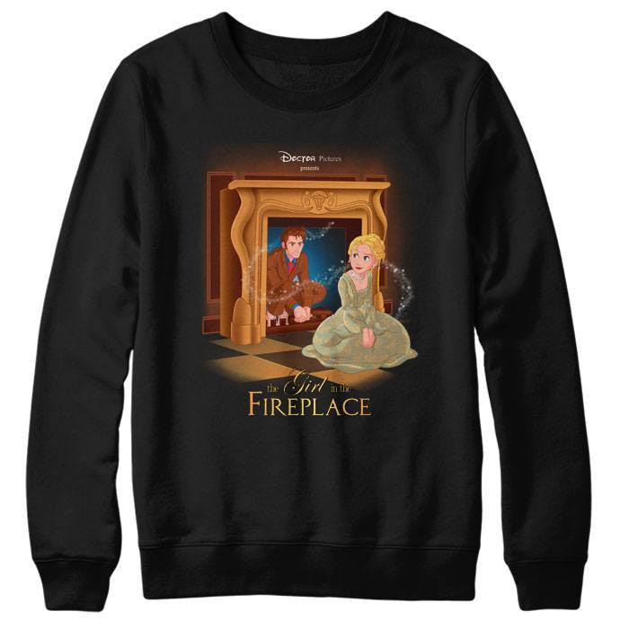 The Girl in the Fireplace - Sweatshirt