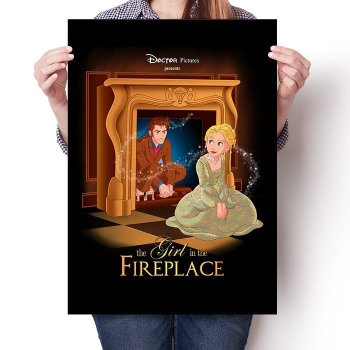 The Girl in the Fireplace - Poster