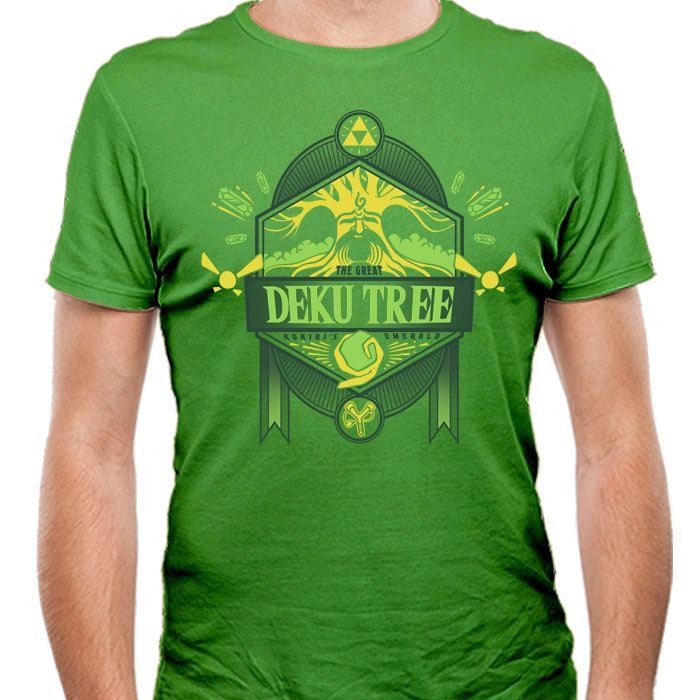 The Great Deku Tree - Men's Fitted T-Shirt