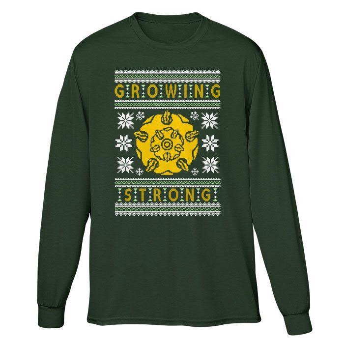 The Holidays are Growing Strong - Long Sleeve T-Shirt (Unisex)