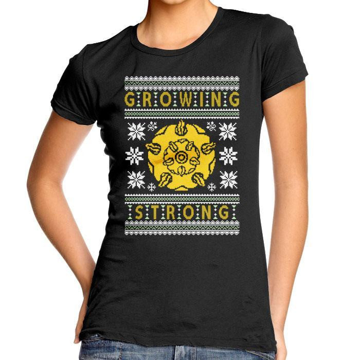 The Holidays are Growing Strong - Women's Fitted T-Shirt