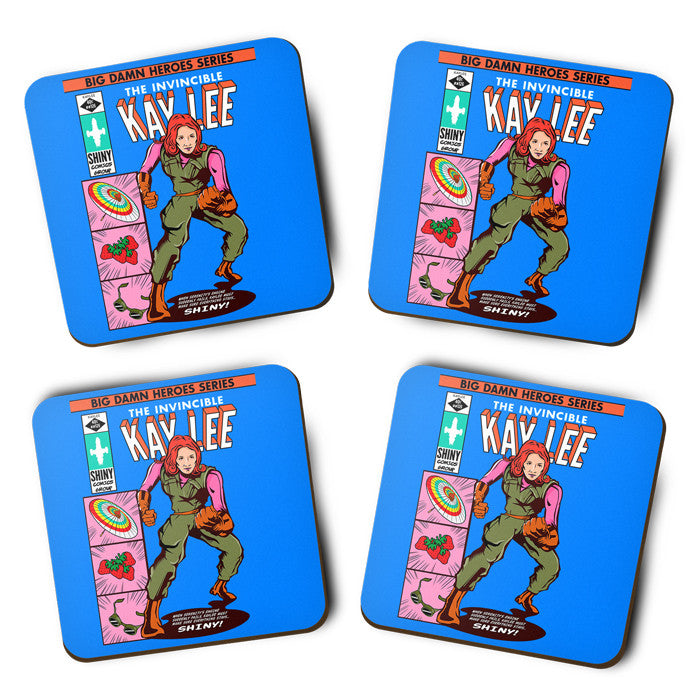 The Invincible Kaylee - Coasters