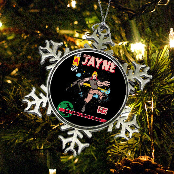 The Mighty Jayne - Ornament