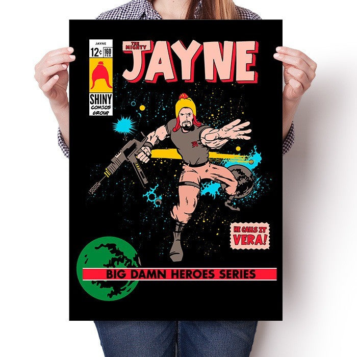 The Mighty Jayne - Poster
