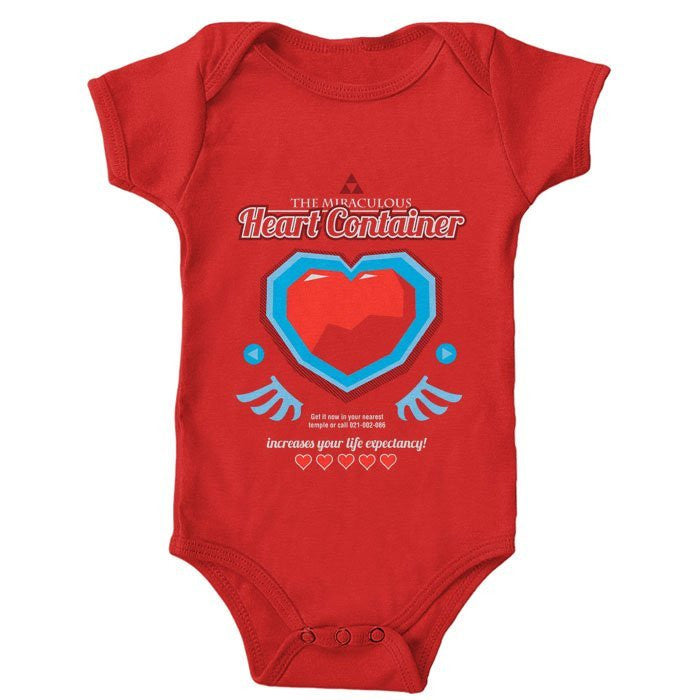 The Miraculous Heart Container - Onesie