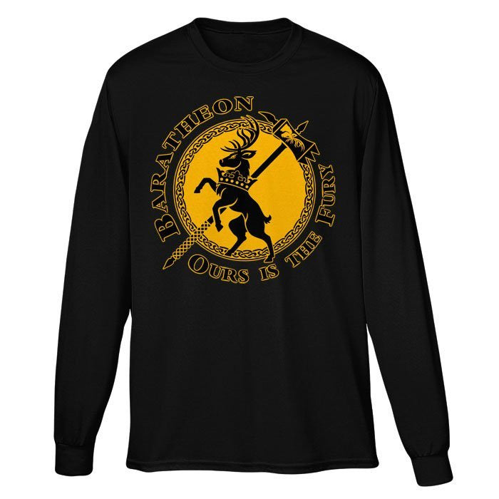 The Stag of Fury - Long Sleeve T-Shirt (Unisex)