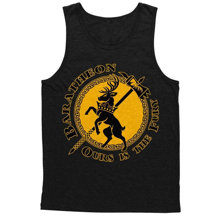 The Stag of Fury - Men's Tank Top