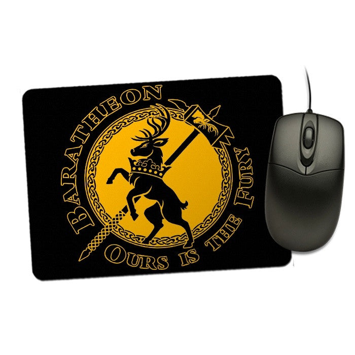 The Stag of Fury - Mousepad