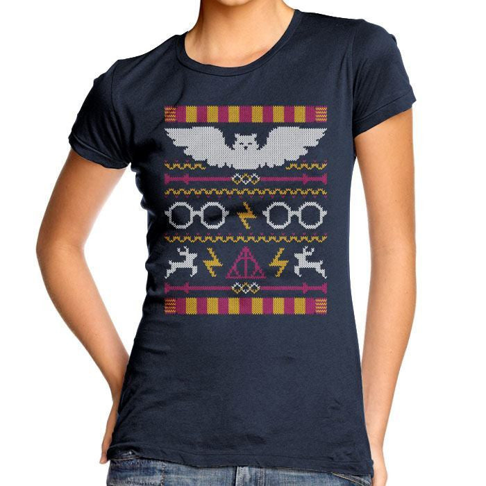 The Sweater That Lived - Women's Fitted T-Shirt