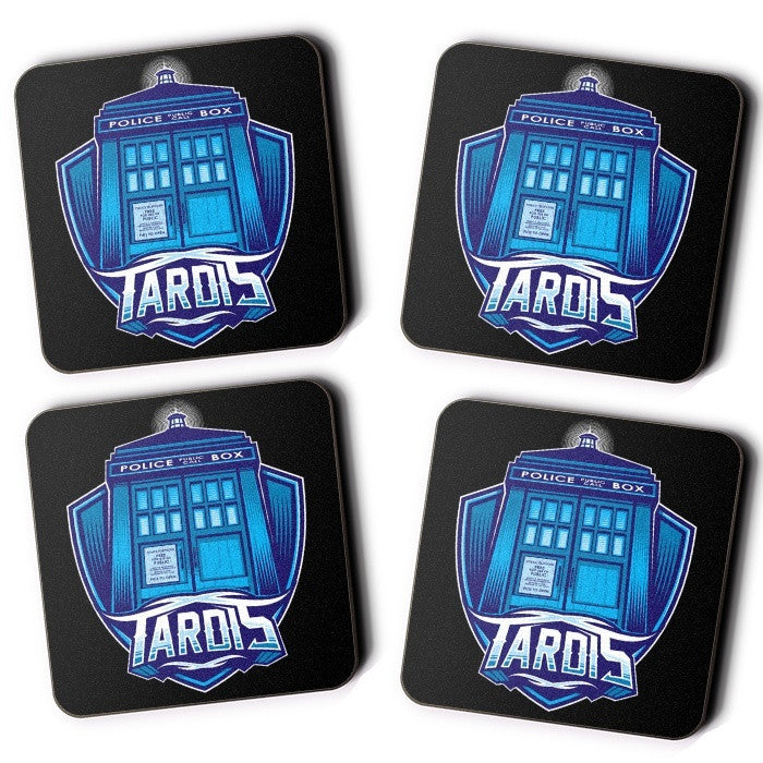 The Tardis - Coasters