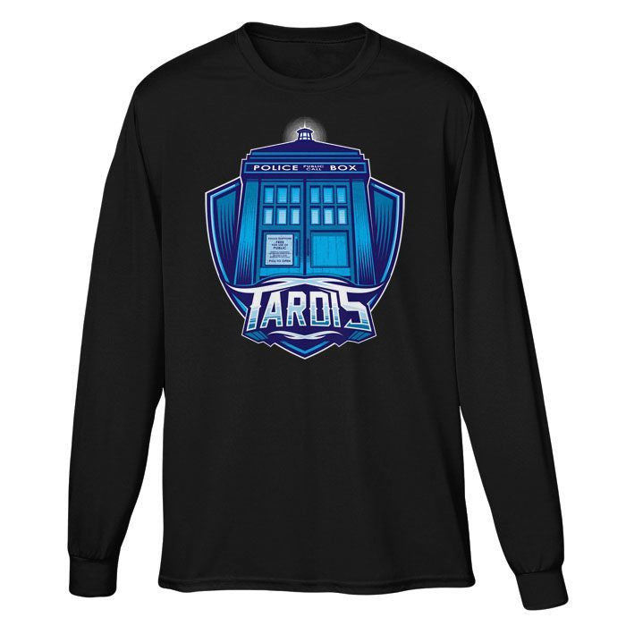 The Tardis - Long Sleeve T-Shirt (Unisex)