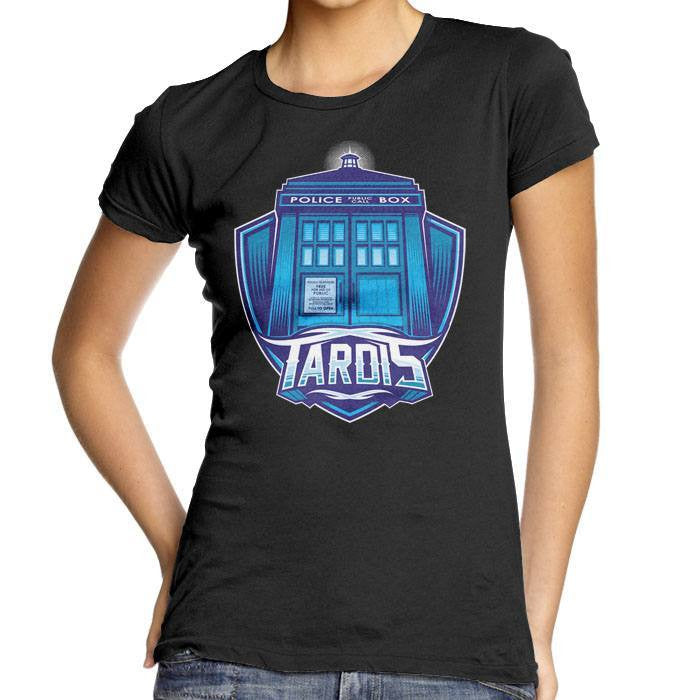 The Tardis - Women's Fitted T-Shirt