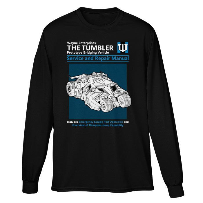 The Tumbler Service and Repair Manual - Long Sleeve T-Shirt (Unisex)