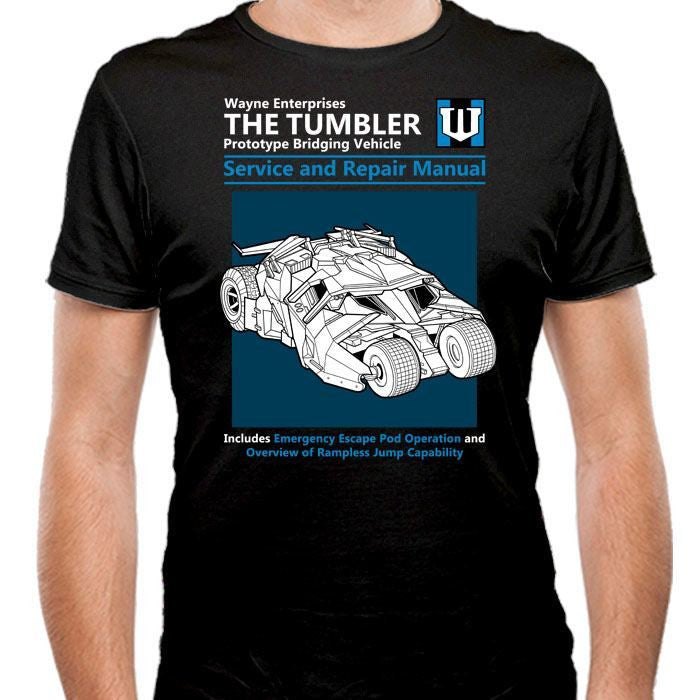 The Tumbler Service and Repair Manual - Men's Fitted T-Shirt