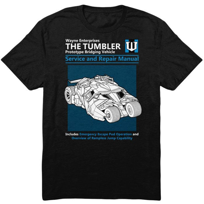 The Tumbler Service and Repair Manual - Infant/Toddler T-Shirt