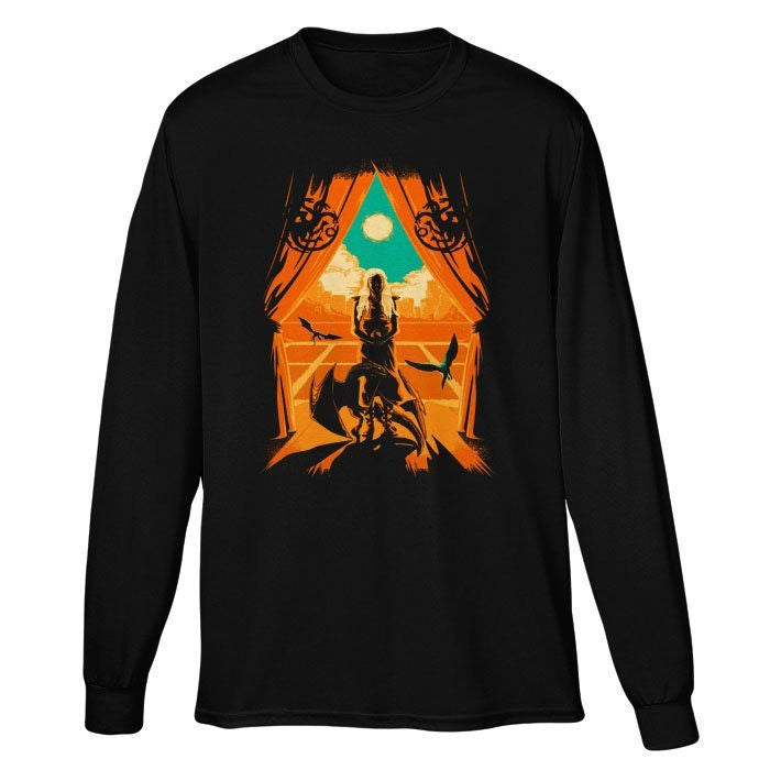 Through the Fire - Long Sleeve T-Shirt (Unisex)