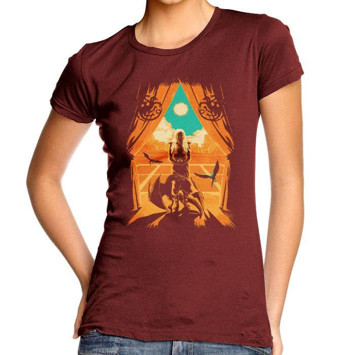 Through the Fire - Women's Fitted T-Shirt