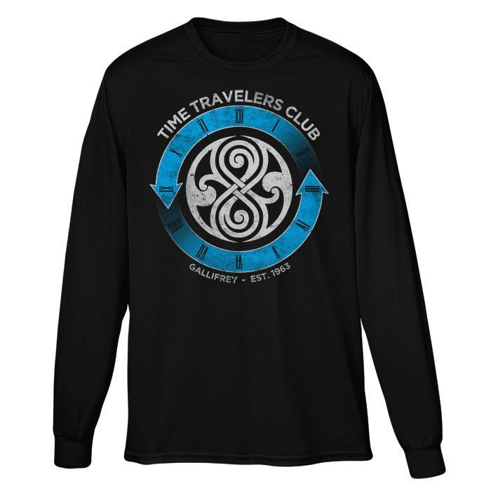 Time Traveler's Club - Long Sleeve T-Shirt (Unisex)