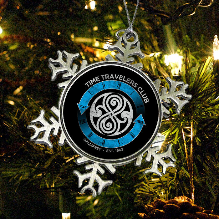Time Traveler's Club - Ornament