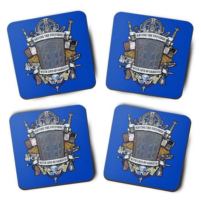 Timelord Crest - Coasters