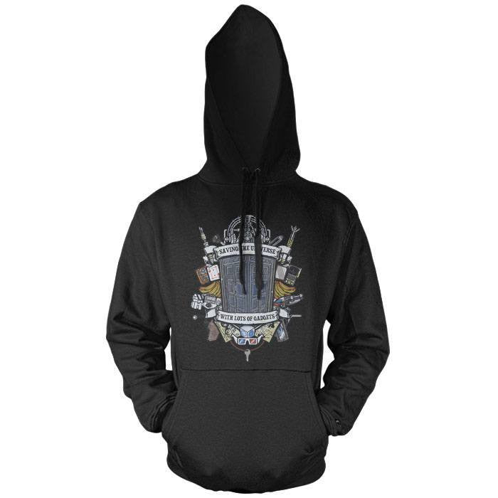 Timelord Crest - Pullover Hoodie