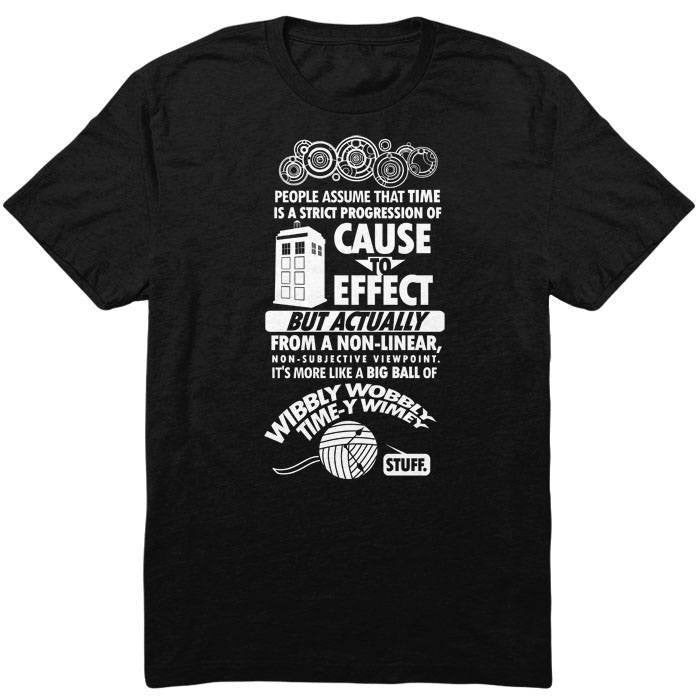 Timey Wimey Tee - Youth T-Shirt