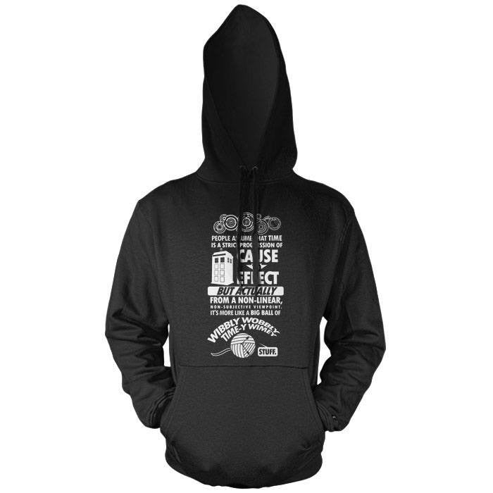 Timey Wimey Tee - Pullover Hoodie