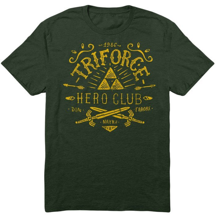 Triforce Hero Club - Men's T-Shirt
