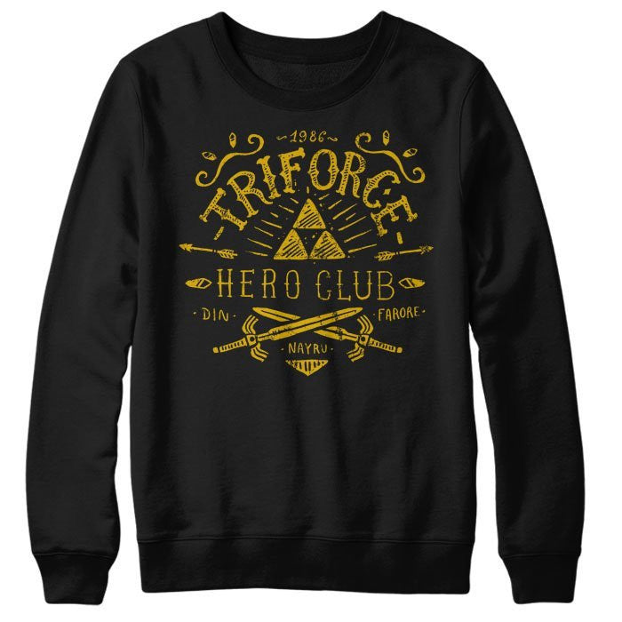 Triforce Hero Club - Sweatshirt