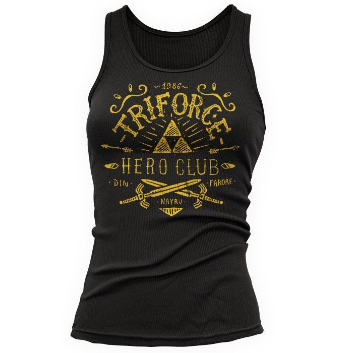 Triforce Hero Club - Women's Tank Top