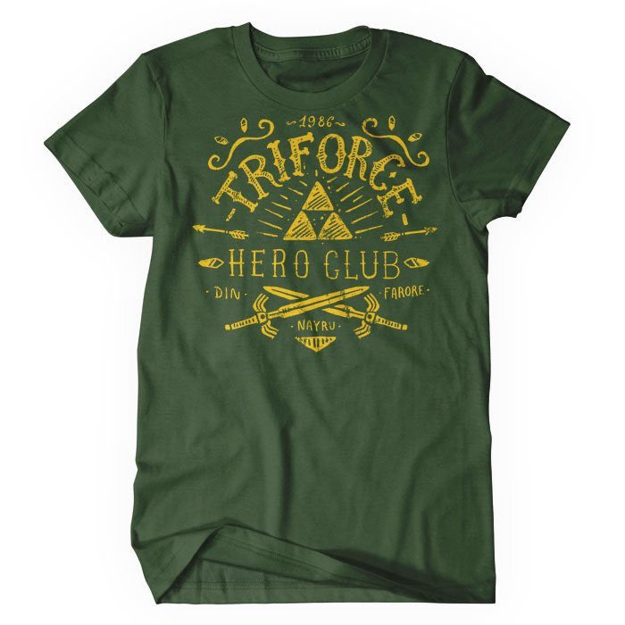 Triforce Hero Club - Women's T-Shirt